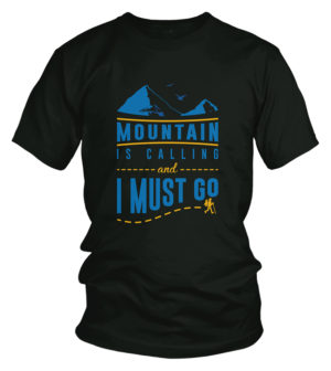 mountain is calling travel tshirt bangladesh