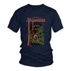 Feel The Wind Of Mountain Travel T-Shirt